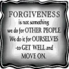 Forgiveness is the Way to Move Forward