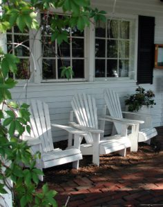 Porch of an inn