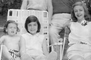 My sisters and me (that's me on the left...with no shirt on!)