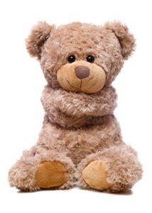 bear hugging itself